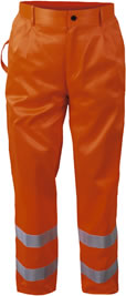Warnhose orange